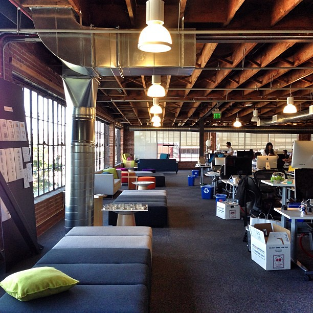 Pinterest Office In San Francisco Great Workplace