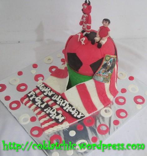 Cake Manchester united dan animal kaiser