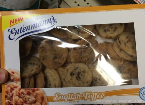 Entenmann's English Toffee Cookies