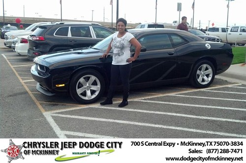 Happy Birthday to Felecia Berry from Bobby Crosby and everyone at Dodge City of McKinney! #BDay by Dodge City McKinney Texas