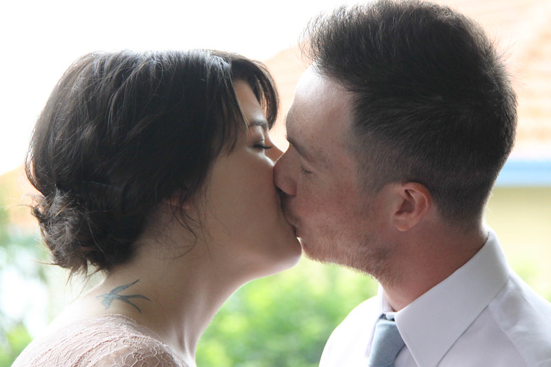 wedding 14 july 2013 - kiss