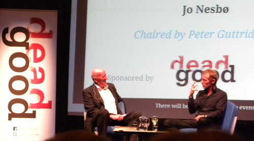 Peter Guttridge and Jo Nesbø