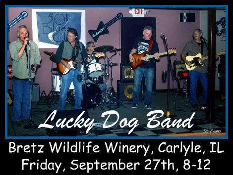 Lucky Dog Band 9-27-13