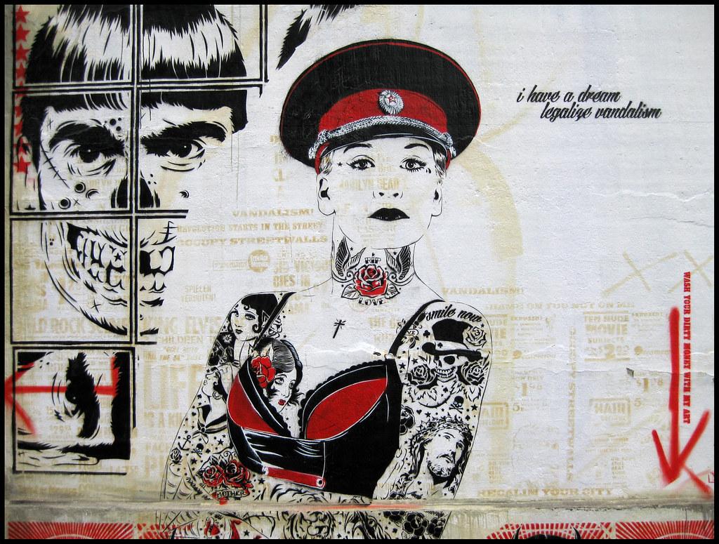 "Köln-Ehrenfeld: ""I have a dream - legalize vandalism"" (2)"