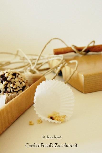 Bon Bon di panettone e cioccolato