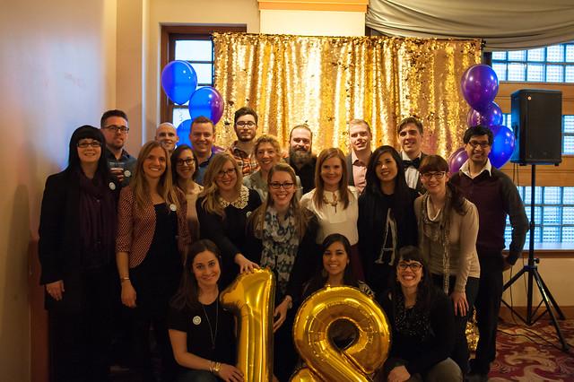 Our amazing crew of volunteers who make PKNs in Edmonton happen!