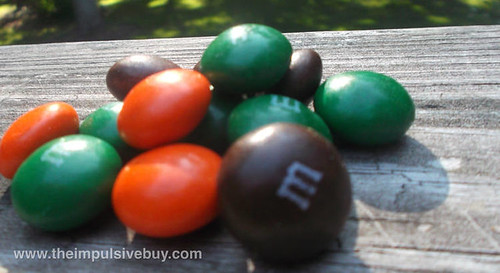 M&M's Pumpkin Spice Closeup