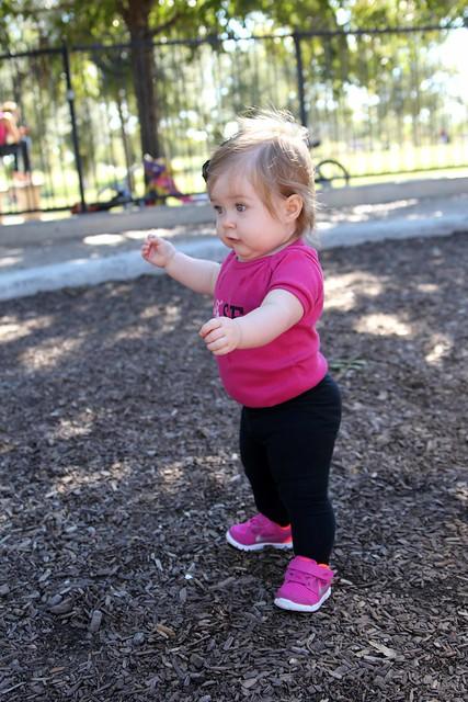 Harper at the park