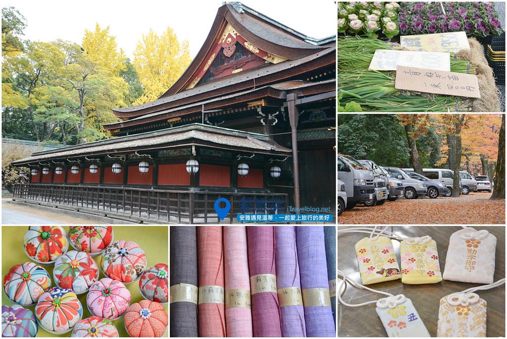 《京都市集即景》北野天滿宮天神市:紅葉與銀杏共舞古董市   愛旅博客