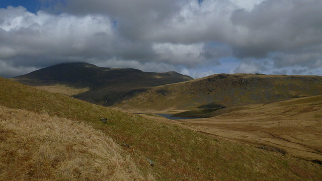 Scafell, Burnmoor Tarn, Eskdale Moor