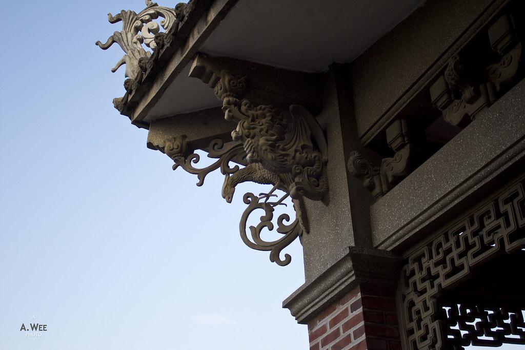 Roof Detail of Hi Heaven Villa 海天堂