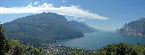 Torbole & lake from Monte brione
