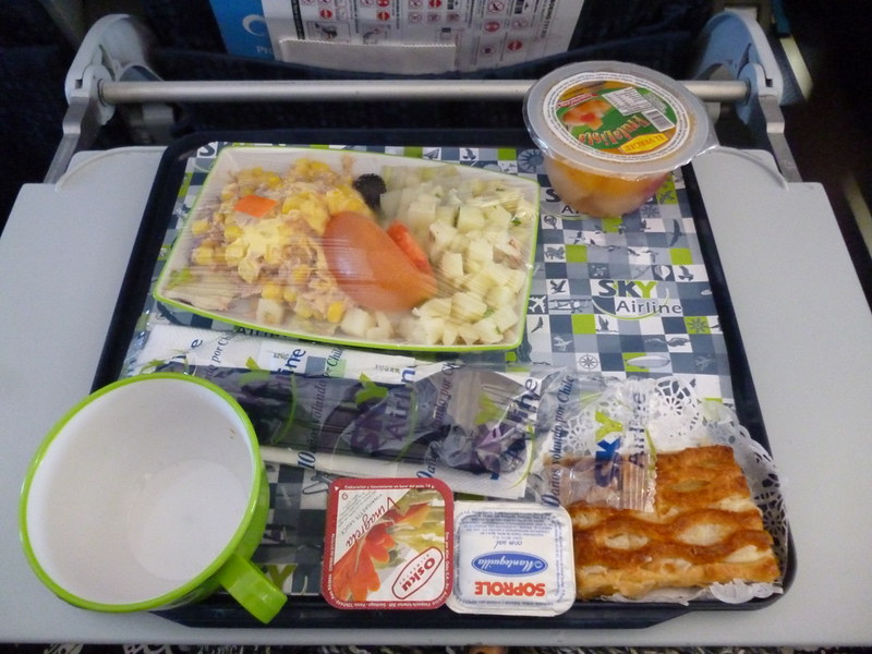 Sky Airlines food is horrible