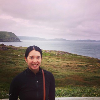 Mei at Cape Spear