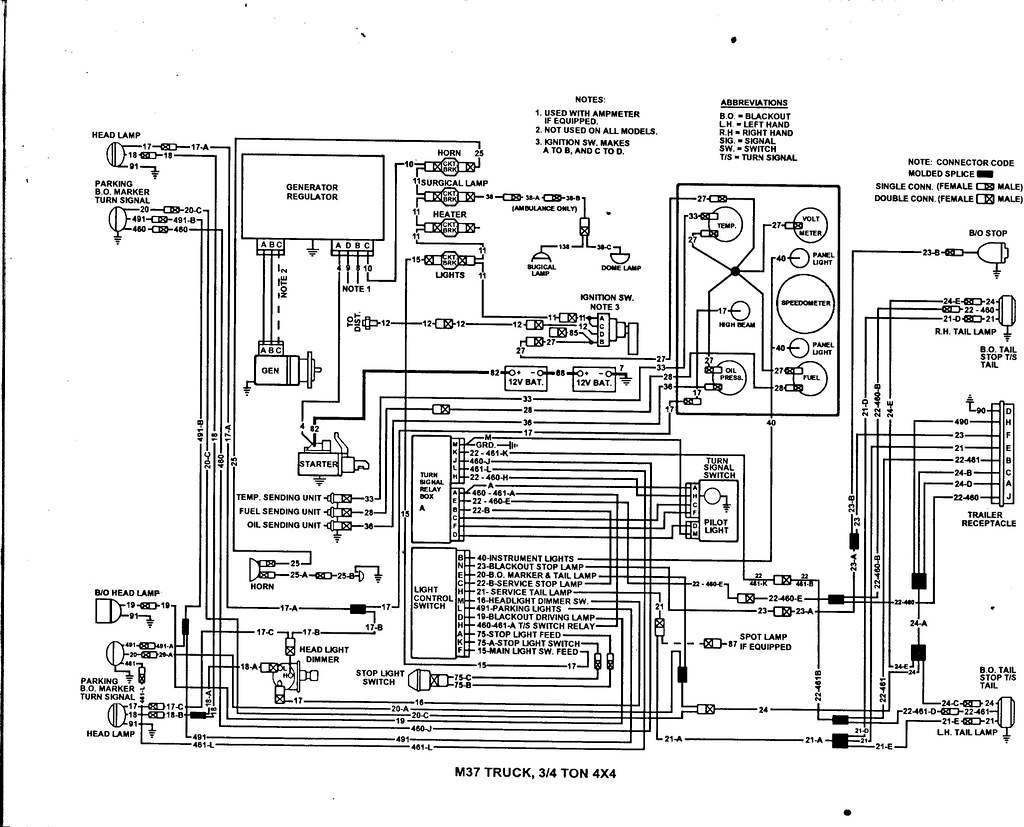 M37 Wiring Diagram