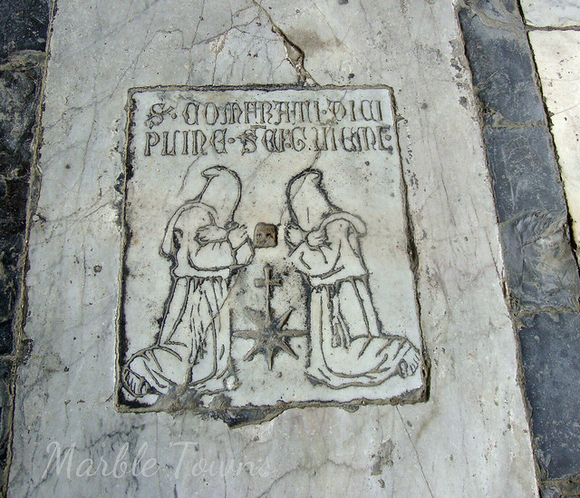 Pisa Camposanto Cem floor detail 2