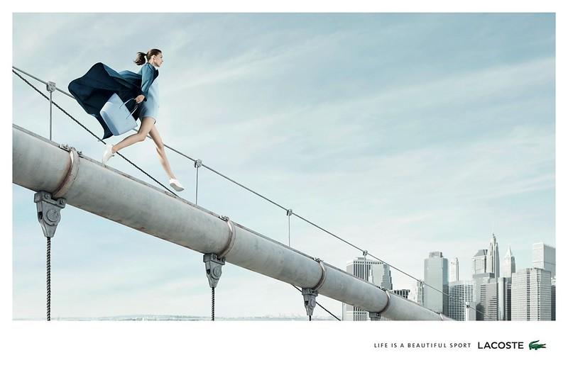 Lacoste - Life Is A Beautiful Sport Woman Bridge