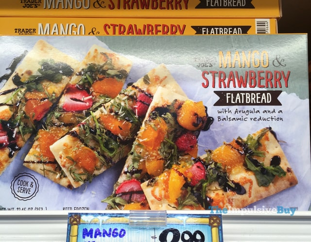 Trader Joe's Mango & Strawberry Flatbread