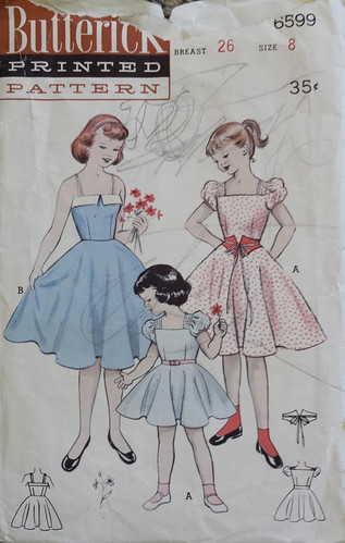 vintage Butterick 6599