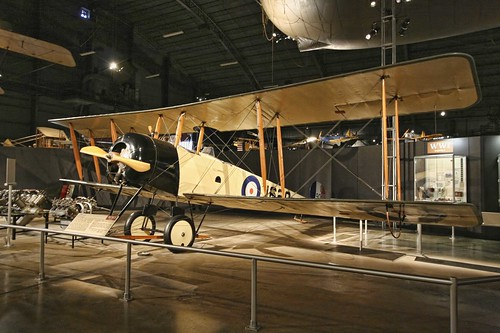 Avro 504K photo copyright Jen Baker/Liberty Images. All rights reserved. Pinning to this page is okay!
