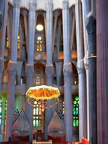 Barcelona, Spain Sagrada Familia Alter