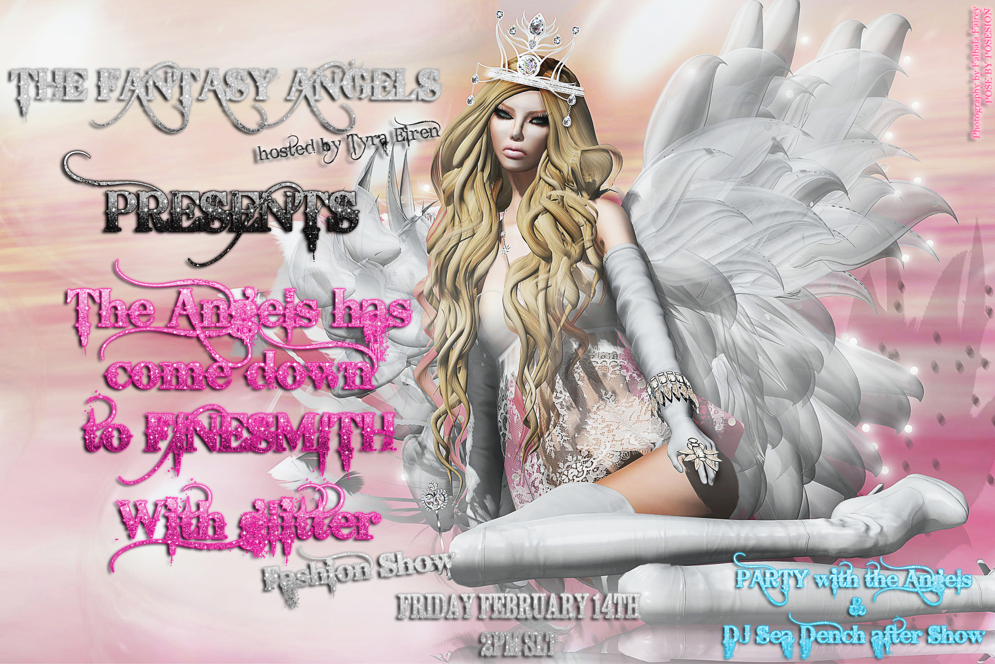 """SOON AT THE ANGELS HAS COME DOWN TO FINESMITH WITH GLITTER FASHION SHOW"" -  February 14th at 2 pm SLT !!!"