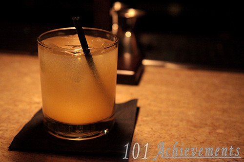 Cocktails at Tender: The Stone-Fence