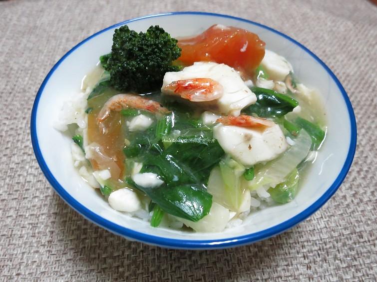櫻花蝦蔬菜燴飯