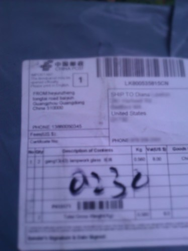 Package from China
