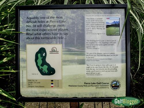 Pierce Lake 18th Plaque-1010807