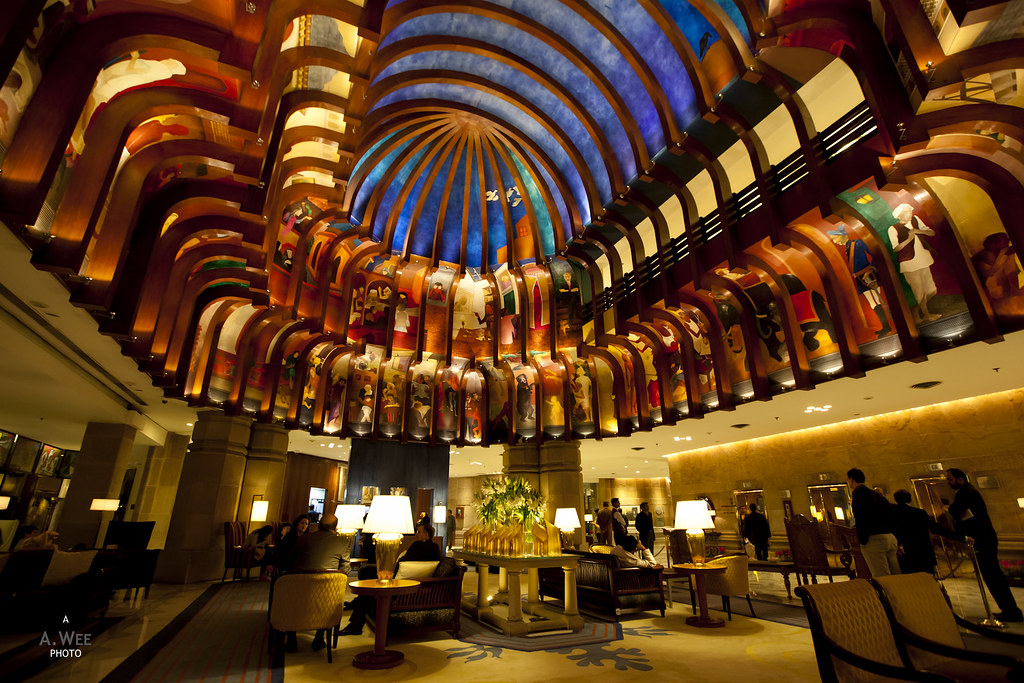 Lobby Atrium at ITC Maurya