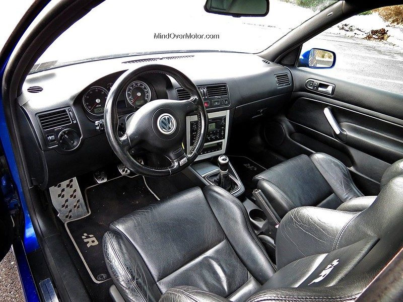 2004 Volkswagen Mk4 Golf R32 Interior by Mind Over Motor