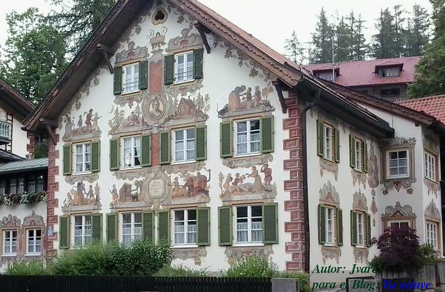Fachada cuento Casita de Chocolate Oberammergau