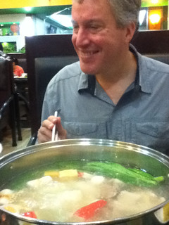 Steve at Green Suki Soup