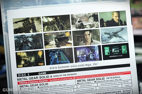 PS3 Metal Gear Legacy Collection Unboxing Review (7)