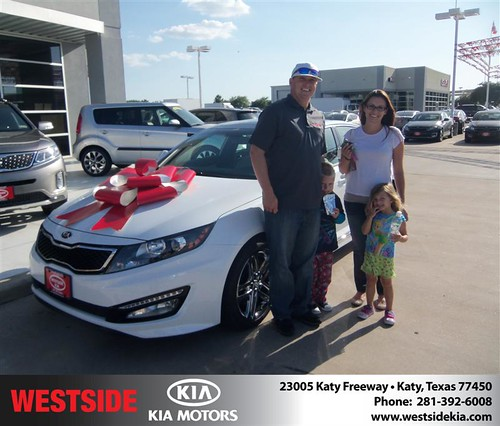 Westside KIA Houston Texas Customer Reviews and Testimonials - Christopher Crow by Westside KIA