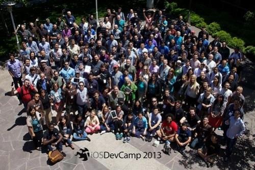 iOSDevCamp 2013 Group Photo