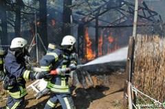 Wald-/Flächenbrand Okriftel 22.07.13