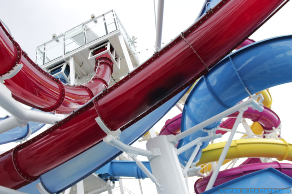 Aquapark Slides Mix