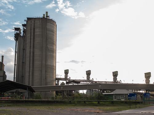 来到Langkawi的无人之境,工业区