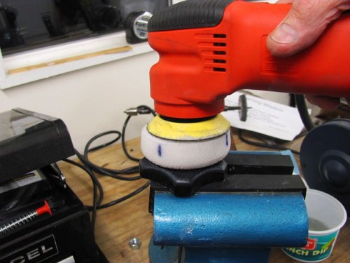Griot's 3 inch Sander and Polishing Compound