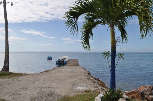 The Boat Awaits for a Trip to Los Haitises National Park in the Dominican Republic