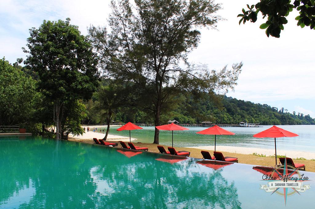 Bunga Raya Island Resort and Spa, Gaya Island, Pulau Gaya, Tunku Abdul Rahman Parks, Sabah Parks, Kota Kinabalu, Sabah, Chloe Tiffany Lee