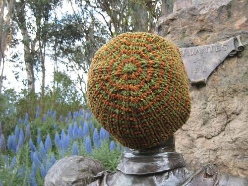 Hat_2013_03_17_rice-stitch_green-brown-stripe_2