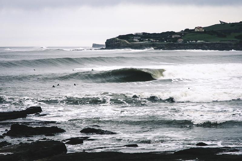 Una ola suelta en San Pedro