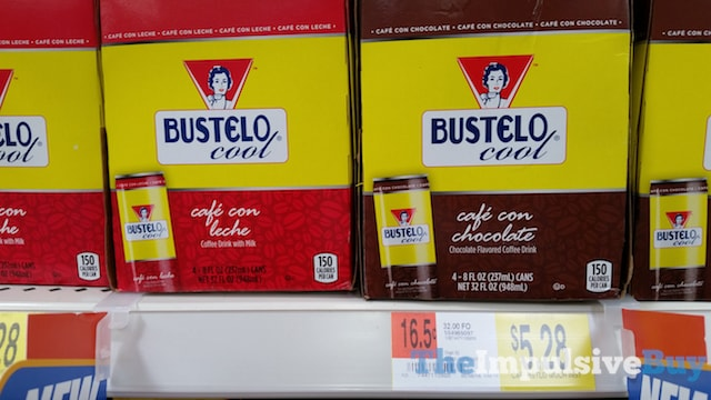 Bustelo Cool Cafe con Leche and Cafe con Chocolate