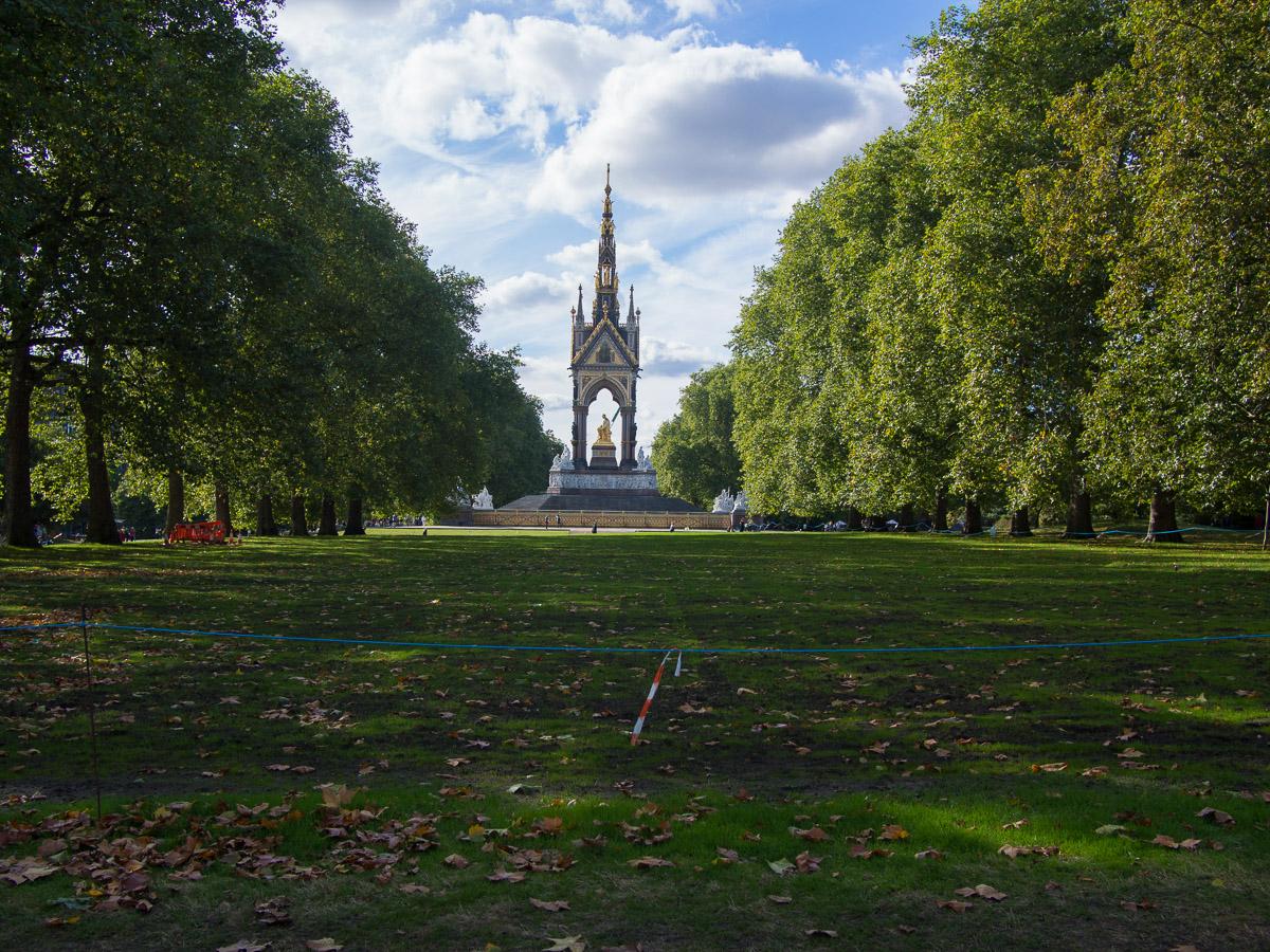 Hyde Park y Albert Memorial