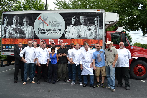 Fire in the Triangle Chefs
