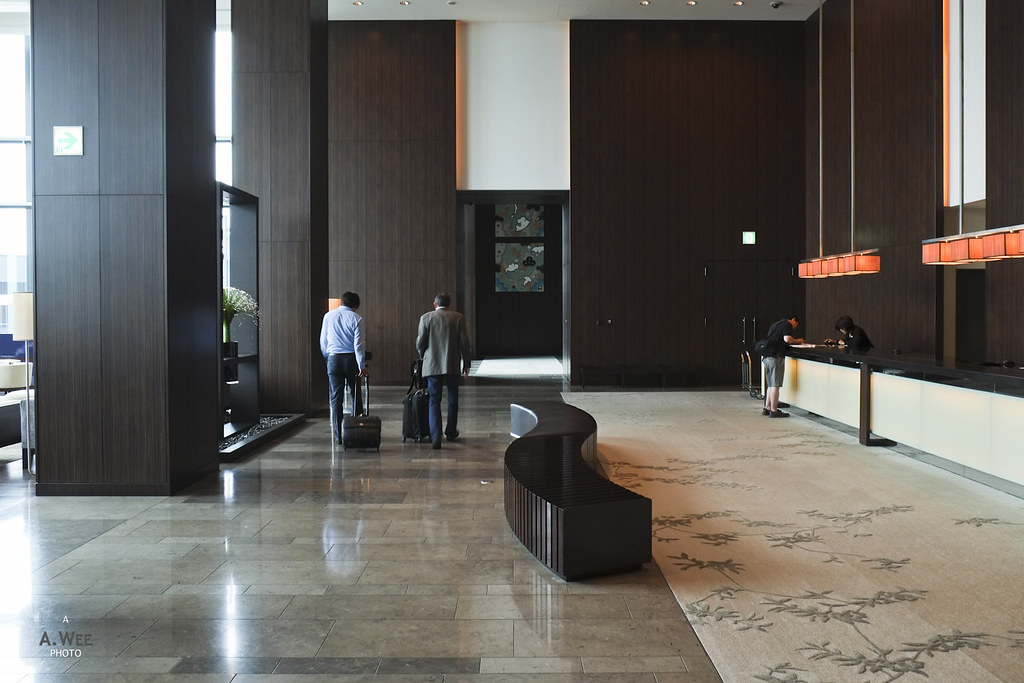 Reception Lobby at the Conrad Tokyo