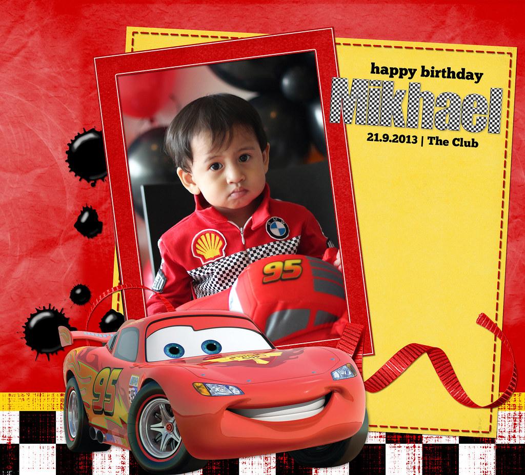 Mikhael is 2!